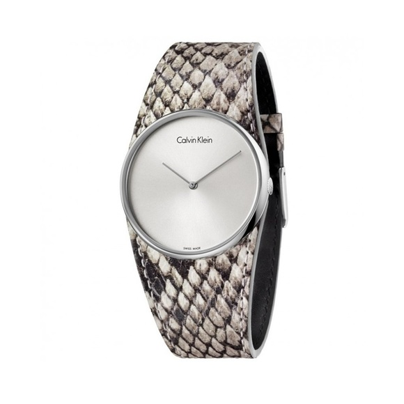 Calvin Klein Accessories - Calvin Klein Grey Quartz Analog Watch